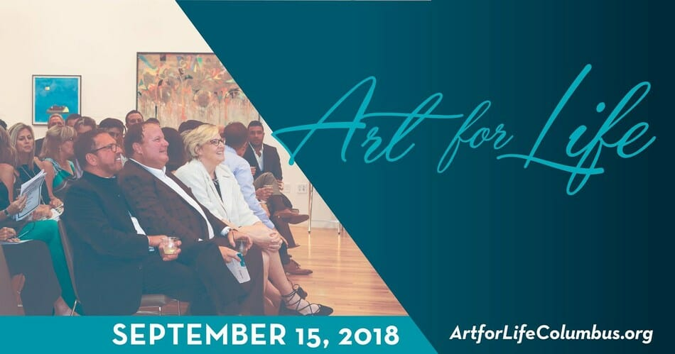 Art for Life, September 15, 2018, ArtforLifeColumbus.org